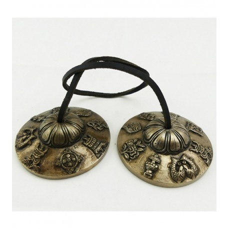 Cymbale Tibétaine Auspicieux