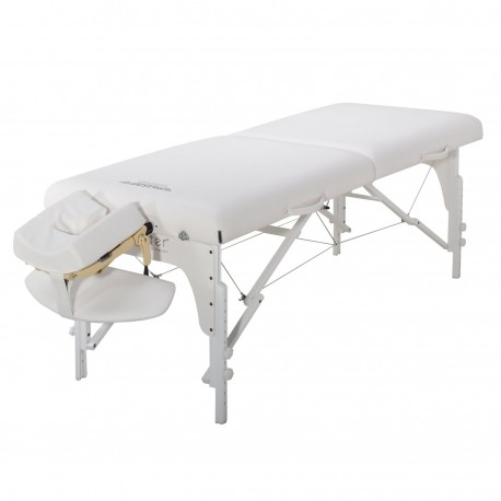 Table de Massage Confort Pro White