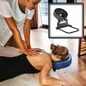 Kit Têtière Ajustable pour Massage à Domicile