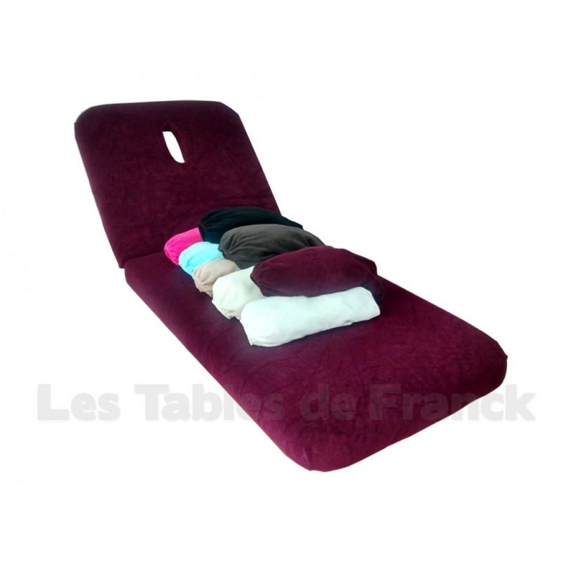 Drap housse coton ponge pour tables de massage 80cm for Drap housse 80x190